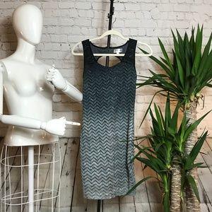 Emerald Su;nday Dress Black and Grey size M